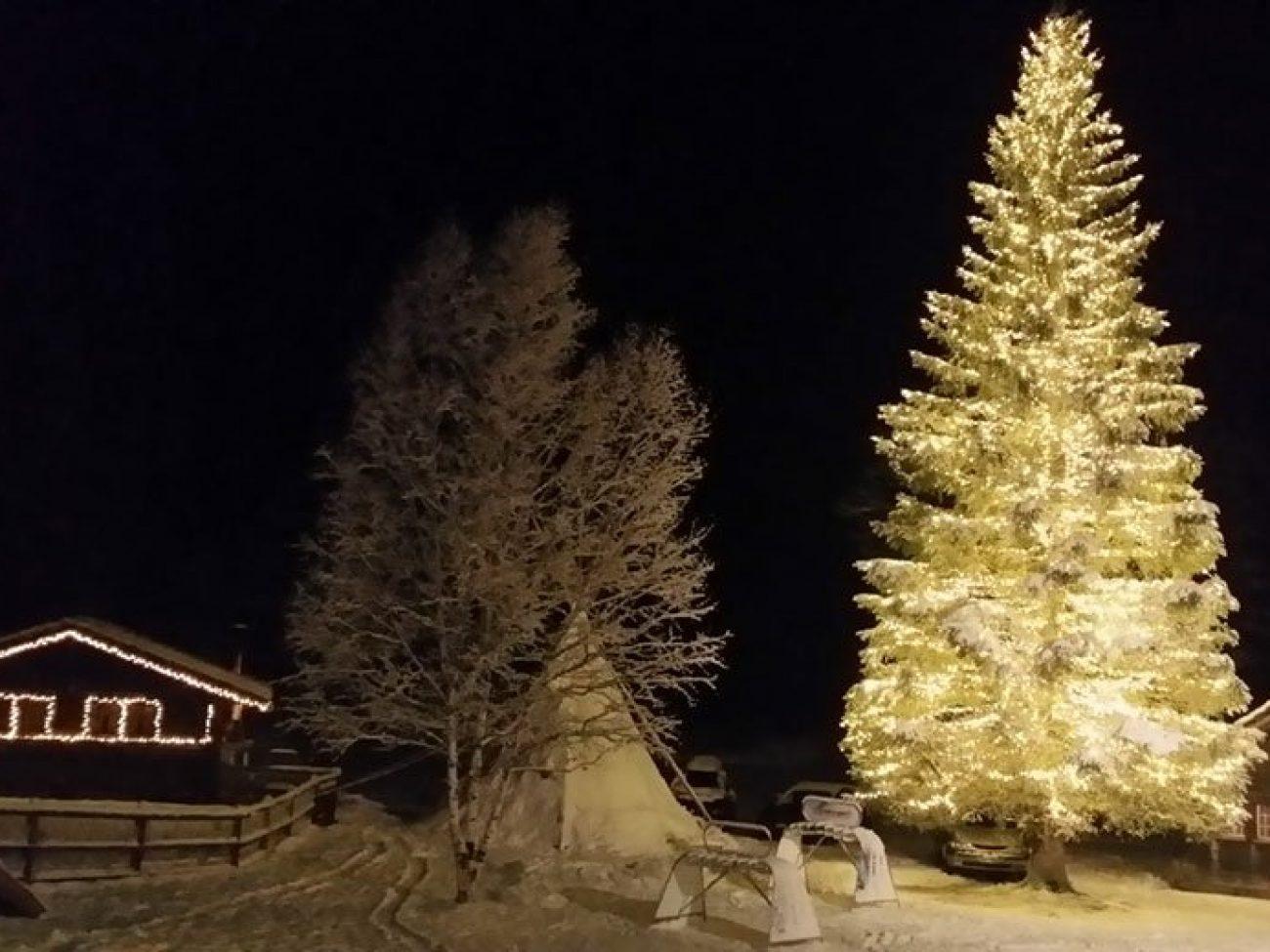 Winterromantik Simmenfälle