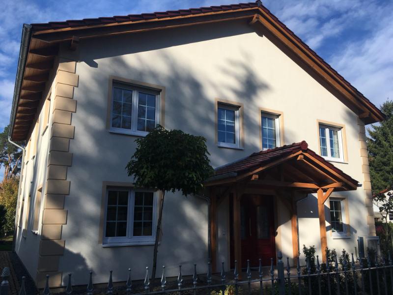Oranienburg Haus Strassenansicht
